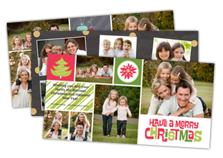 Celebrate the season with all the important people in your life. Share your holiday spirit with a Premium 5x7 photo card that will hold a place of pride on everyone's mantle. Select designs available in 5x7 Flat and Folded cards.