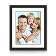 Essential Frame – Double Matted (White over Black) - This Essential Frame is high quality, solid wood and comes with an all white over all black, bevel cut, double mat. We add your favorite photo and then finish it so it is ready for you to hang, right out of the box. Available in 8 different sizes & SHIPS FREE.