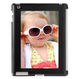iPad 3 Aluminum Panel Case - Personalize your iPad with your favorite picture! Add your favorite photo to this Aluminum Panel Case for a customized creation. The case is made of a durable, hard shell and comes in black. The vibrant colors of the printed aluminum insert will beautifully highlight the photo you choose to show off. Compatible with the iPad 2, 3, and 4.
