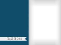 Clase de 2014 - Azul - Clase de 2014 - Azul