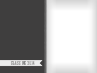 Clase de 2014 - Gris - Clase de 2014 - Gris