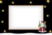 4x6 - Santa and Presents - 4x6 - Santa and Presents