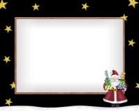 8x10 - Santa and Presents - 8x10 - Santa and Presents