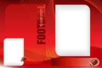 4x6 - Football - 2 Image Sm/Lg - 4x6 - Football - 2 Image Sm/Lg