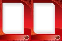 4x6 - Football - 2 Image Lg - 4x6 - Football - 2 Image Lg