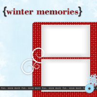 8x8 - Winter Memories - 8x8 - Winter Memories