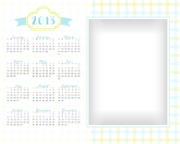 8x10 - Pretty Gingham - Pretty Gingham