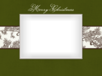 Merry Christmas - Pine Cones - Merry Christmas - Pine Cones
