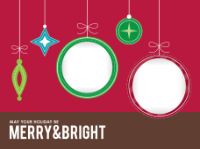 May Your Holiday be Merry and Bright (2 images) - May Your Holiday be Merry and Bright (2 images)