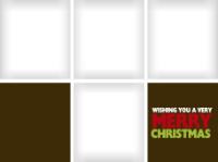 Wishing You a Very Merry Christmas - Brown (4 imag - Wishing You a Very Merry Christmas - Brown (4 imag