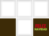 Feliz Navidad - Brown (4 images) - Feliz Navidad - Brown (4 images)