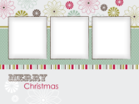 Merry Christmas - Graphic Snowflakes (3 images) - Merry Christmas - Graphic Snowflakes (3 images)