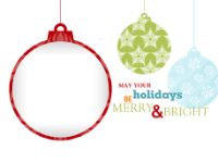 Merry & Bright Ornaments - Merry & Bright Ornaments