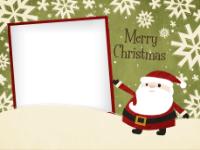Snowflaked Santa - Snowflaked Santa
