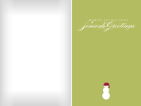 Solitary Snowman - Green - Solitary Snowman - Green