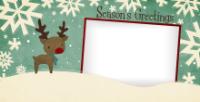 Snowflaked Reindeer - Snowflaked Reindeer