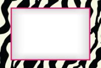 4x6 - Vibrant Zebra - 4x6 - Vibrant Zebra