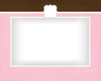 8x10 - Initial on Modern Pink - 8x10 - Initial on Modern Pink