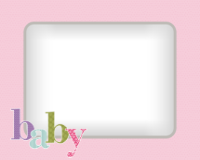 8x10 - Quilted Baby - Pink - 8x10 - Quilted Baby - Pink