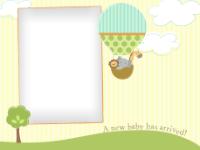 New Baby - Hot Air Balloon - New Baby - Hot Air Balloon