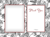 Thank You - White Botanical - Thank You - White Botanical