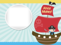 Birthday Pirate Ship - Birthday Pirate Ship