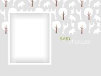 Baby Shower Elephants and Giraffes - Baby Shower Elephants and Giraffes