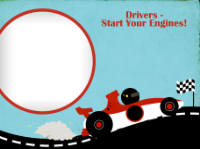 Race Car - Race Car