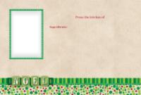 4x6 - Polka-dot Christmas - 4x6 - Polka-dot Christmas