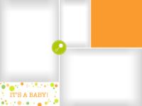 Dotted Excitement - Orange - Dotted Excitement - Orange