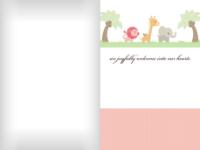 Safari Babies - Pink - Safari Babies - Pink