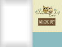 Welcoming Owls - Blue - Welcoming Owls - Blue