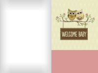 Welcoming Owls - Pink - Welcoming Owls - Pink
