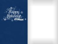 Dazzling Snowflakes - Navy - Dazzling Snowflakes - Navy