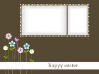 Happy Easter - Flower Stilts (2 images) - Happy Easter - Flower Stilts (2 images)