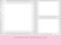 Pink Scrolls (3 images) - Pink Scrolls (3 images)