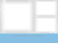 Blue Scrolls (3 Images) - Blue Scrolls (3 Images)