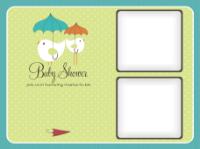 Umbrellas (2 images) - Umbrellas (2 images)