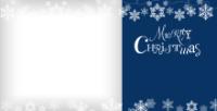 Snowflake Garland - Indigo - Snowflake Garland - Indigo
