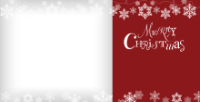 Snowflake Garland - Sangria - Snowflake Garland - Sangria