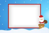 4x6 - Santa and Chimney - 4x6 - Santa and Chimney