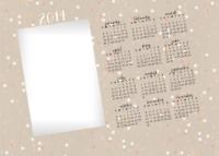 10x14 - Textured Calendar - 10x14 - Textured Calendar