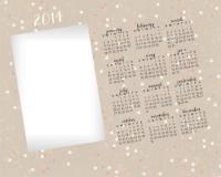 8x10 - Textured Calendar - 8x10 - Textured Calendar