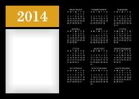 10x14 - Classy Calendar - 10x14 - Classy Calendar