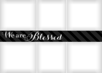 Blessed Banner - Licorice - Blessed Banner - Licorice