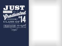 Congratulatory Graduate - Navy - Congratulatory Graduate - Navy