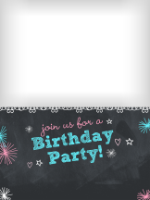 Chalkboard Invitation - Chalkboard Invitation