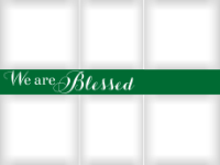 Blessed Banner - Pine - Blessed Banner - Pine